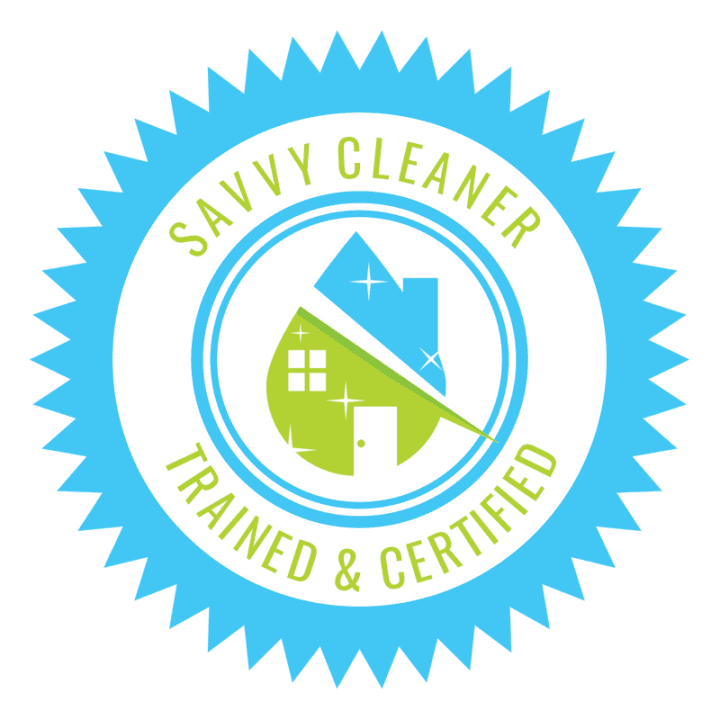 Savvy Cleaner Trained and Certified Seal