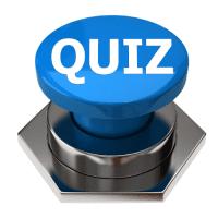 Blue 3d Bolt Quiz