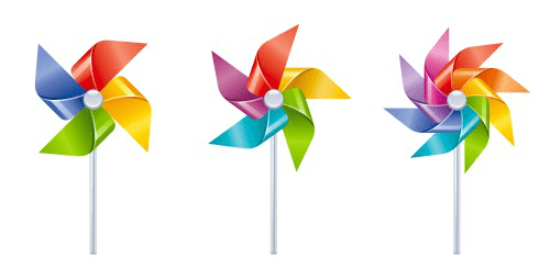 Pinwheels - Beginner, Intermediate, Advanced