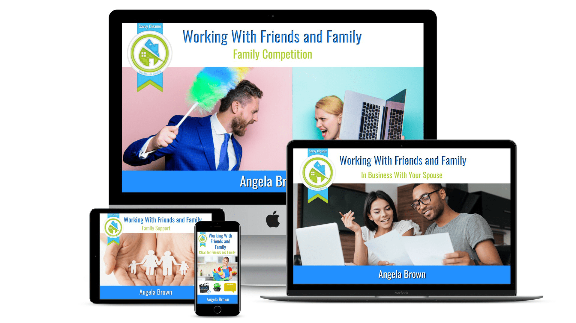 Cover Image - Working With Friends and Family