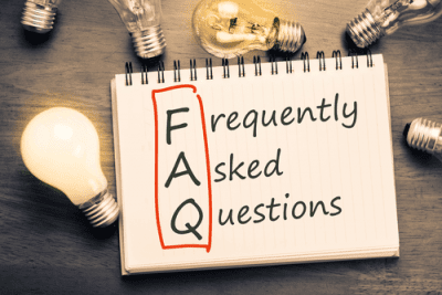 FAQ - Frequently Asked Questions on a Notepad