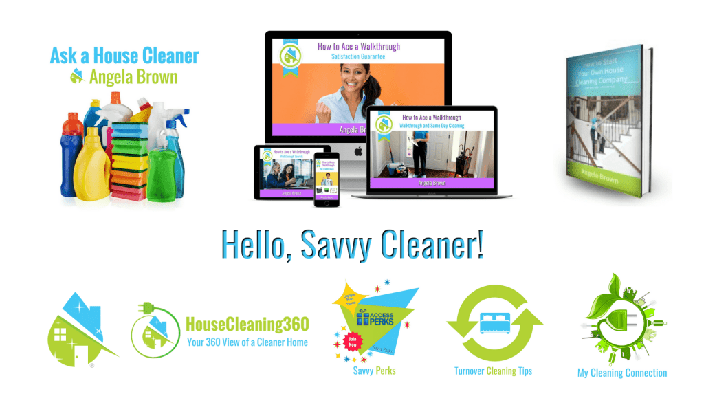 Hello Savvy Cleaner