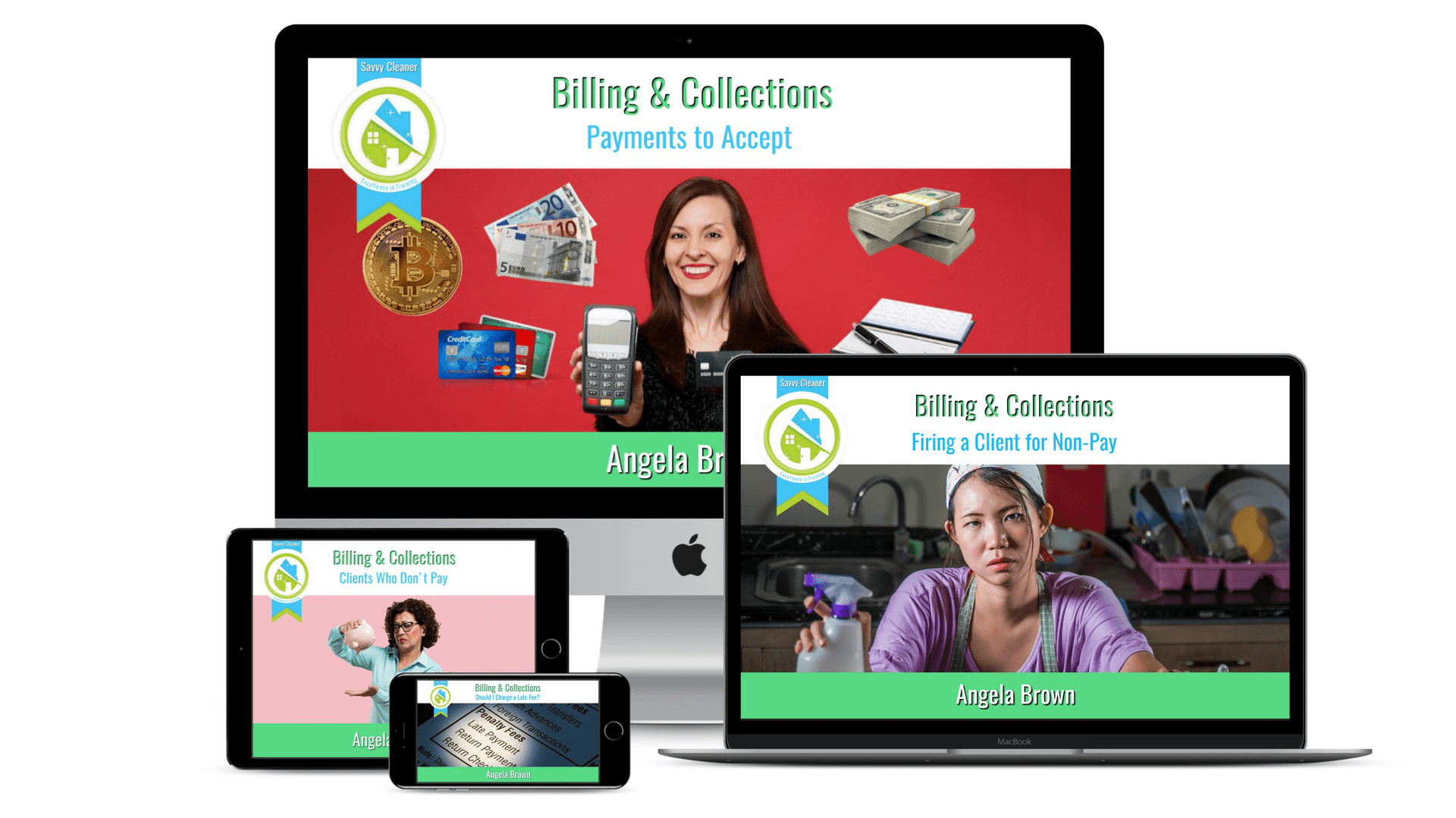 Billing and Collections SM Featured, Savvy Cleaner Course