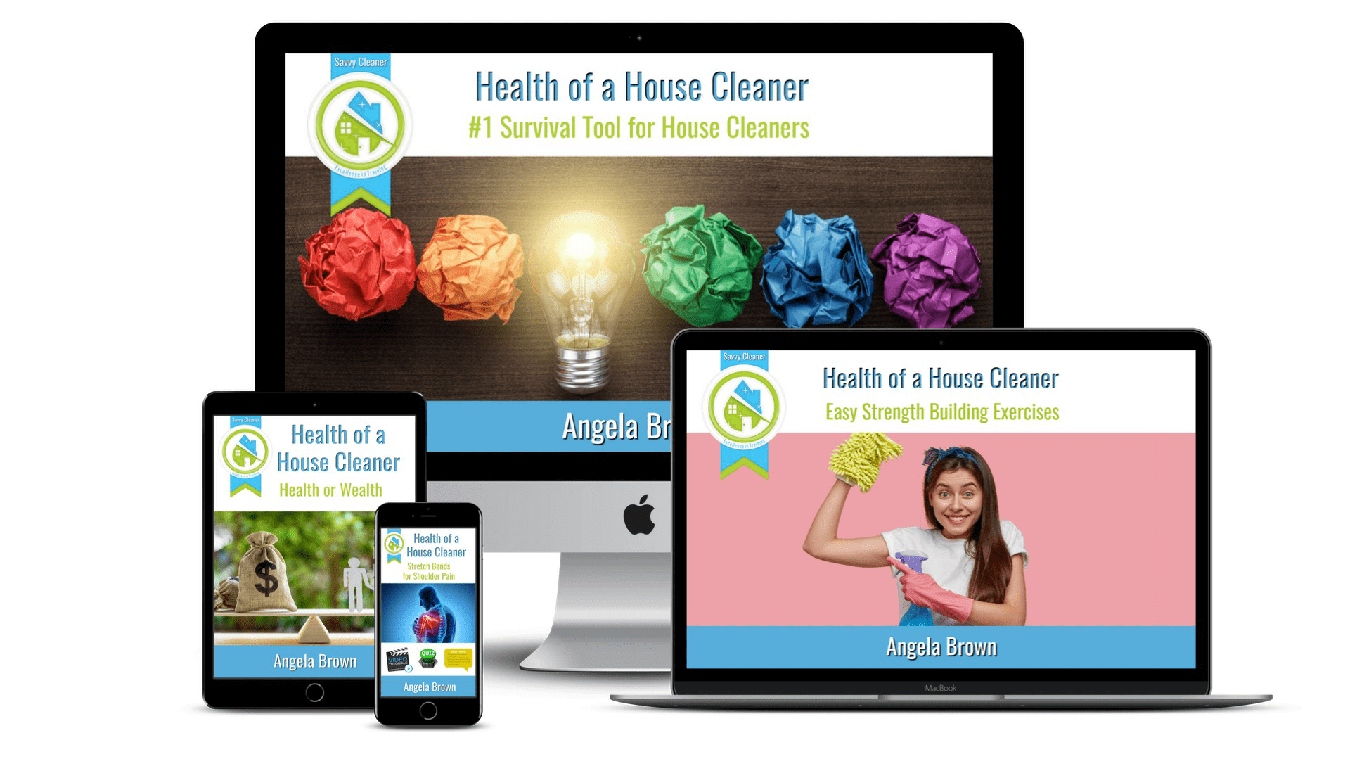 Health of a House Cleaner SM Featured, Savvy Cleaner Course