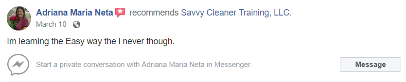 I'm learning the easy way, Savvy Cleaner Review