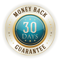 Blue and Gold Satisfaction Guarantee 30 days