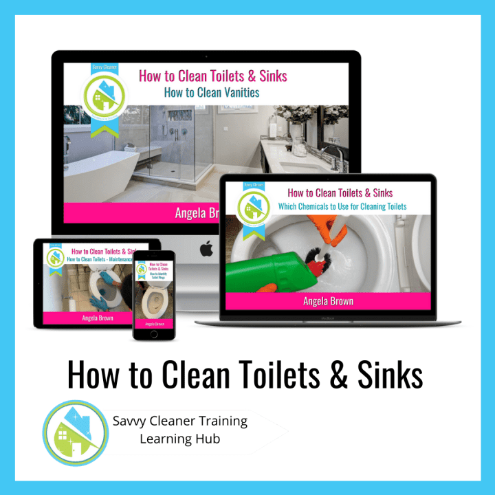 How to Clean Toilets and Sinks