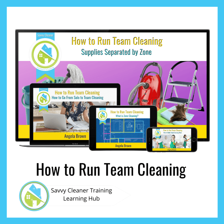 How to Run Team Cleaning, Savvy Cleaner Training Course