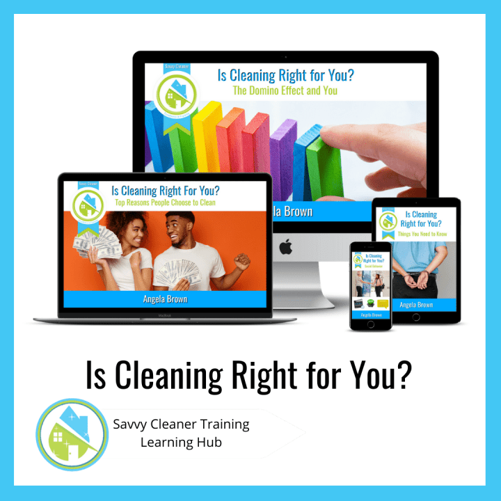 Is Cleaning Right For You - Instagram Post
