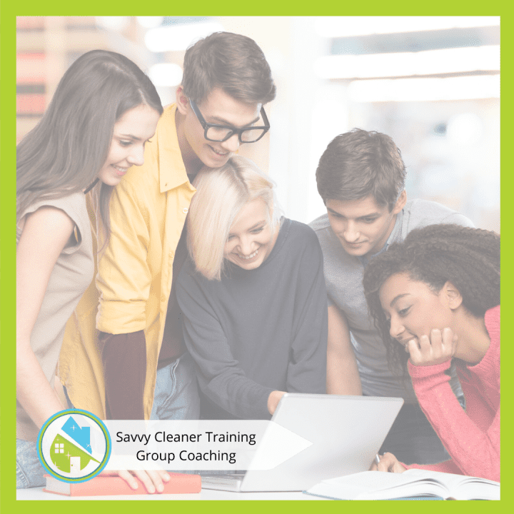 Savvy Cleaner Group Coaching 3