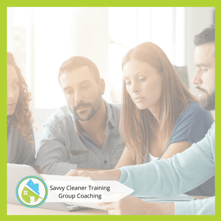 Savvy Cleaner Group Coaching 4