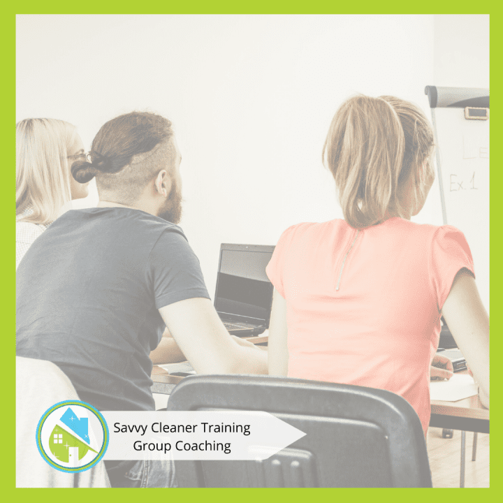 Savvy Cleaner Group Coaching 6