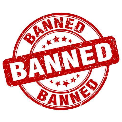 Banned 500 x 500