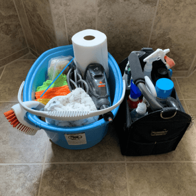 Cleaning Caddy Short Pack
