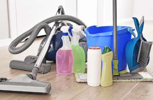 Cleaning Supplies - Resources