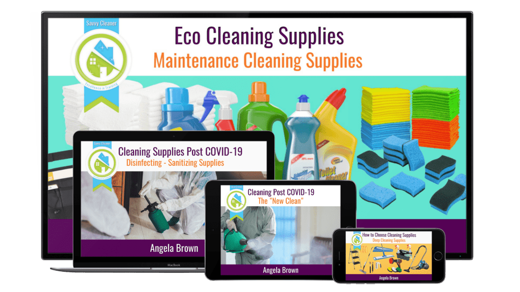 Eco Cleaning Supplies and Equipment Savvy Cleaner Training Course