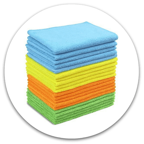 Microfiber Cloths for Dusting