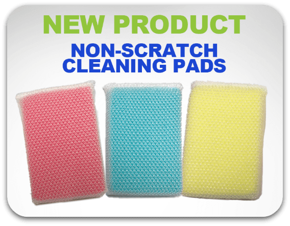 Non-Scratch Cleaning Pads