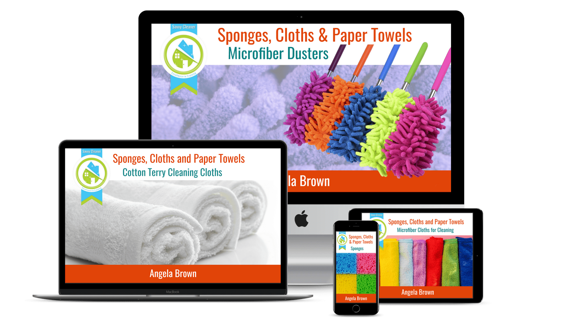 Sponges, Cloths, and Paper Towels Multiple Devices 1920 x 1080
