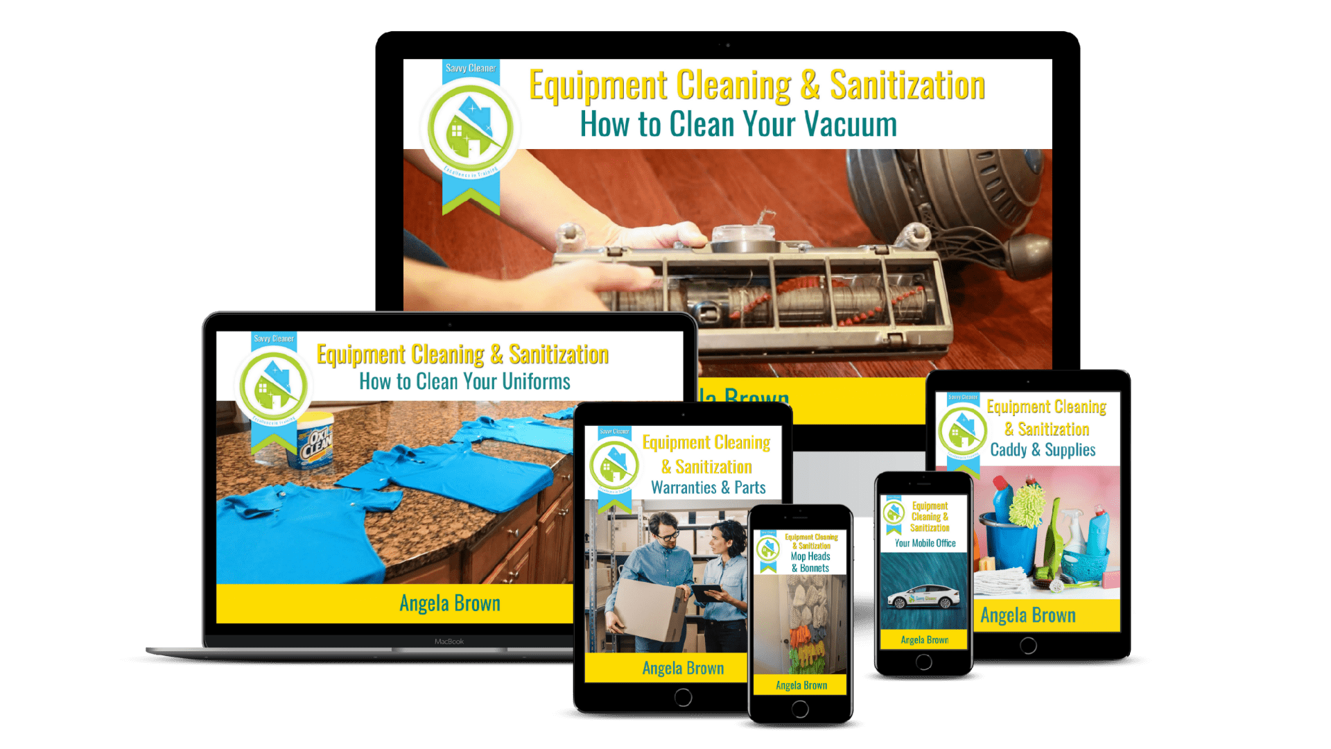Equipment Cleaning & Sanitization Course, Savvy Cleaner Training 1920