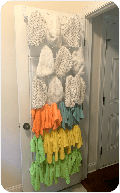 Hanging Rack for Cloths and Bonnets