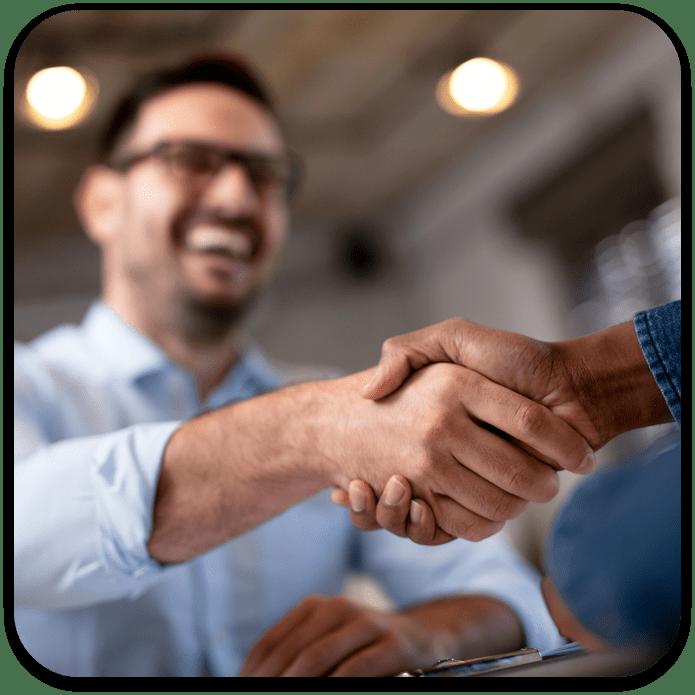 Man Handshake