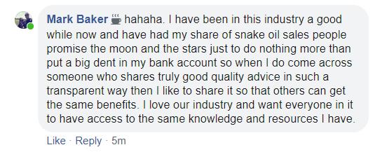 My Share of Snake Oil