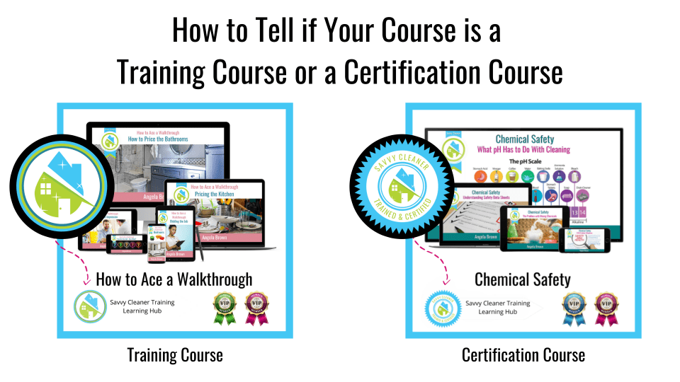 Certification Course Explanation