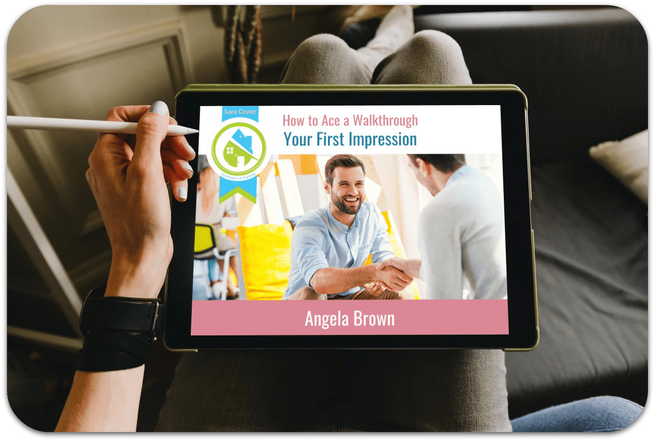 First Impressions, Ace a Walkthrough, Savvy Cleaner Training