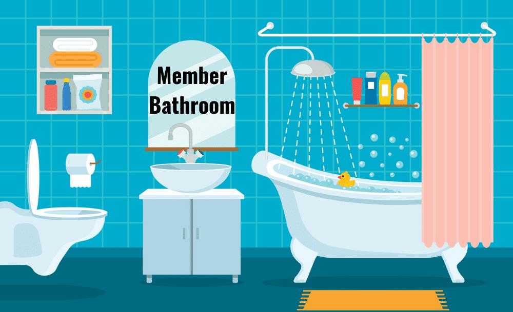 Bathrooms Member Bathroom