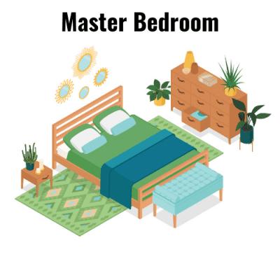 Bedrooms Master Bedroom