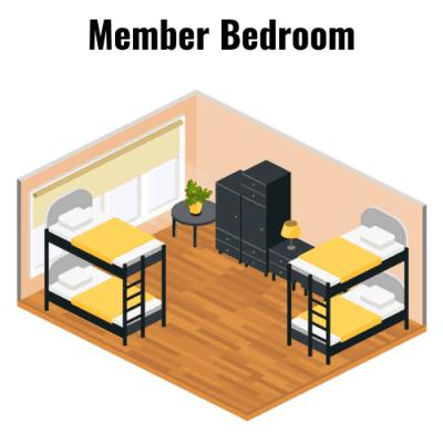 Bedrooms Member Bedroom