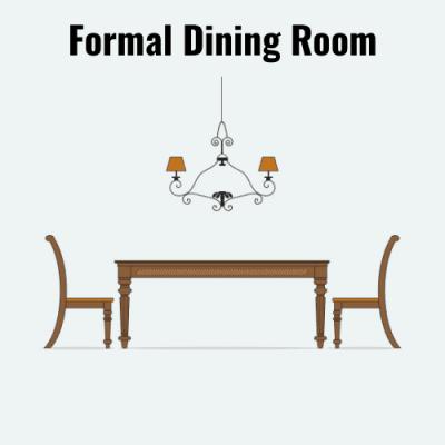 Kitchen Formal Dining Room