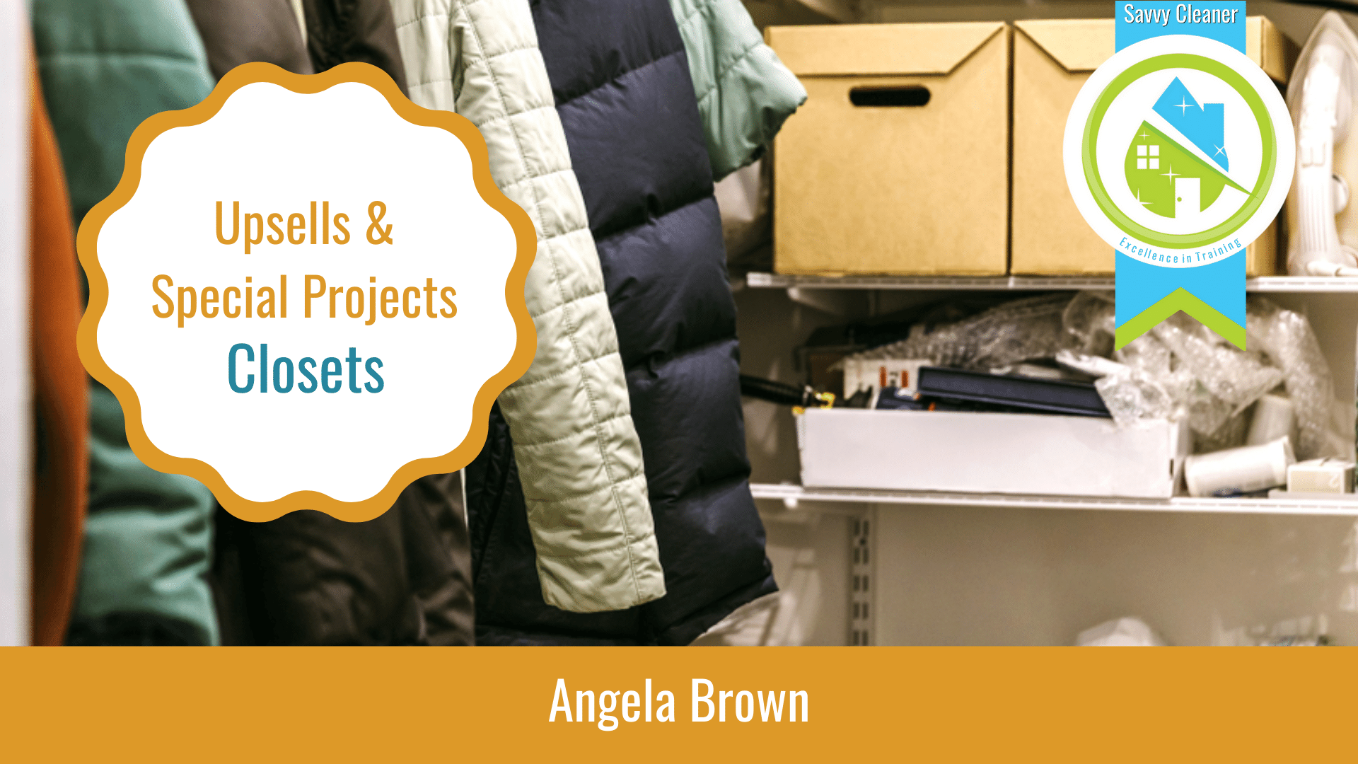Upsells and Special Projects Closet Packages