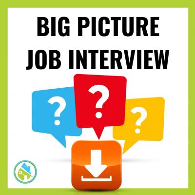 Big Picture Job Interview Questions