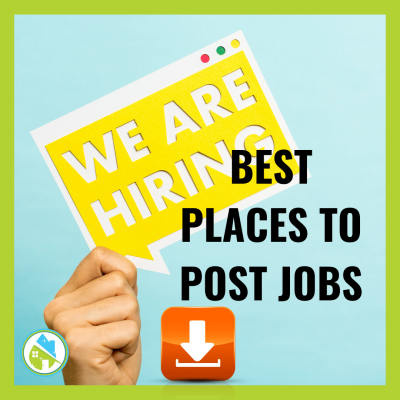 Best Places to Post Jobs Savvy Cleaner Training