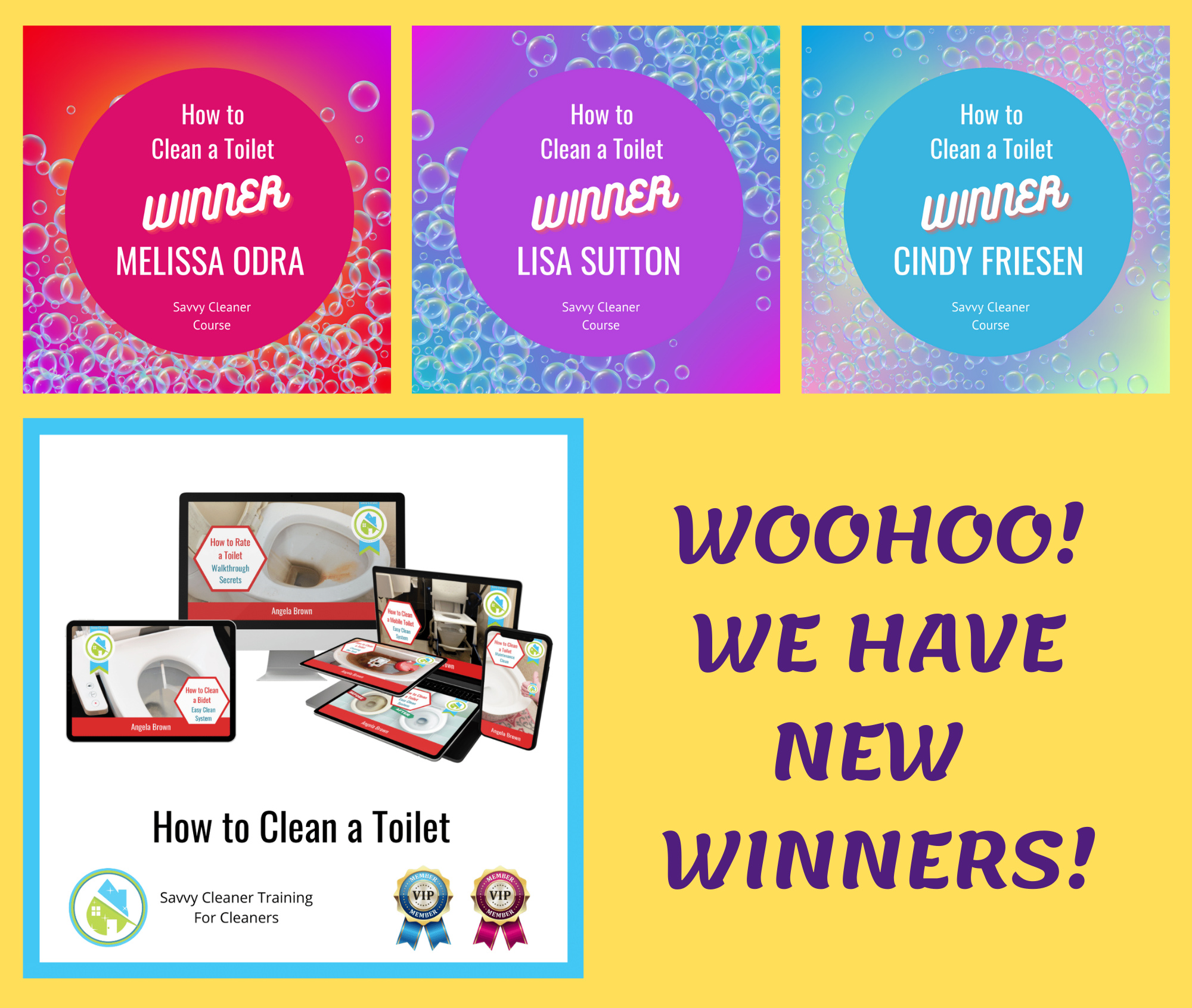 How to Clean a Toilet Winners Savvy Cleaner Training