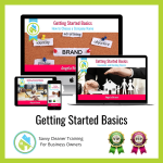 02 Getting Started Basics Savvy Cleaner Training Angela Brown