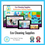 09 Eco Cleaning Supplies Savvy Cleaner Training Angela Brown