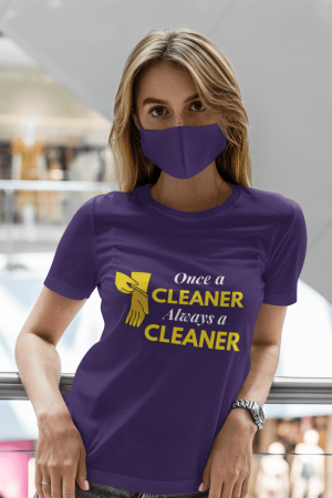 Always a Cleaner Savvy Cleaner Funny Cleaning Shirts Standard Tee