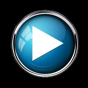 Blue video button 2