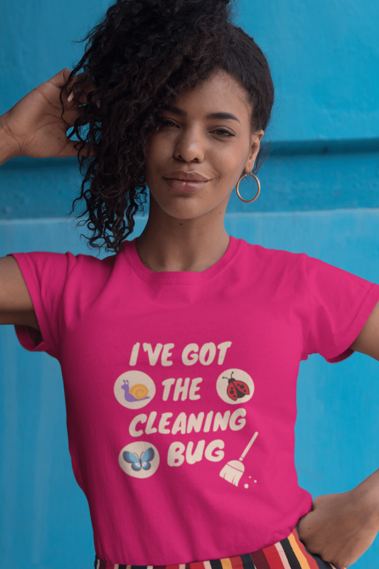Cleaning Bug Savvy Cleaner Funny Cleaning Shirts Women's Classic T-Shirt