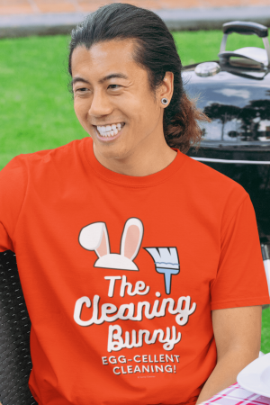 Cleaning Bunny Savvy Cleaner Funny Cleaning Shirt Classic T-Shirt