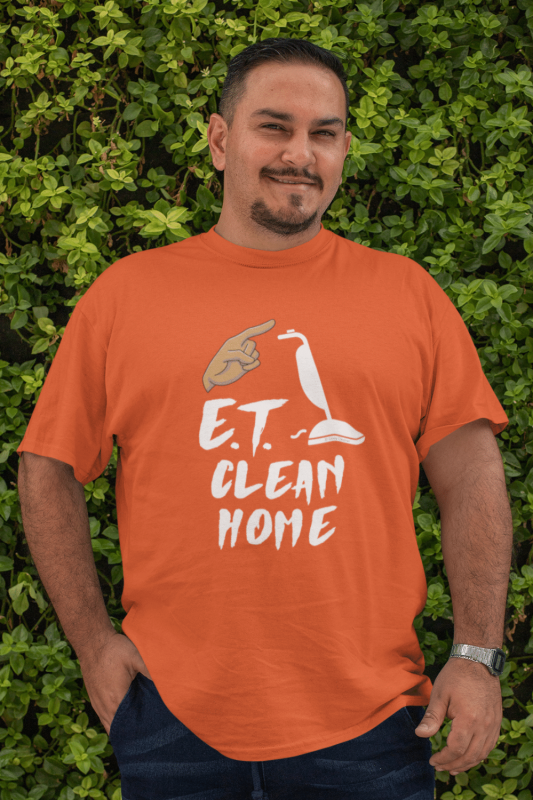 ET Clean Home Savvy Cleaner Funny Cleaning Shirts Men's Standard Tee