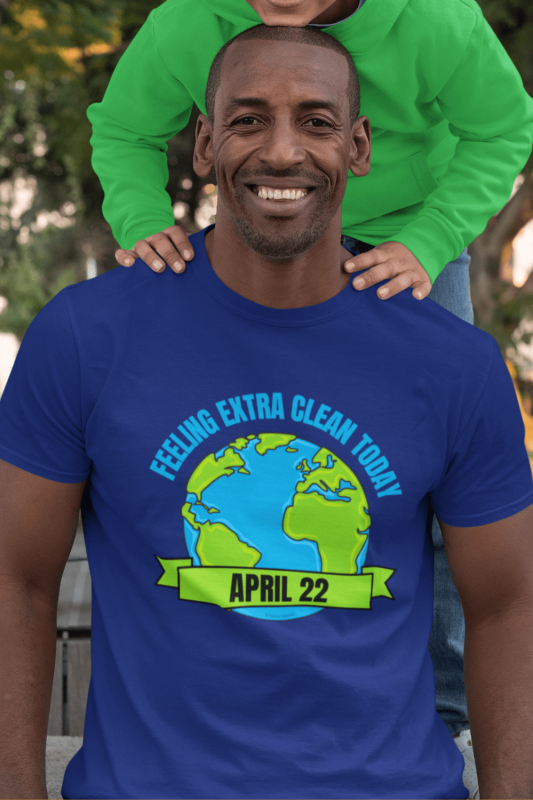 Earth Day Cleaning Savvy Cleaner Funny Cleaning Shirts Men's Standard T-Shirt