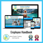 Employee Handbook - Savvy Cleaner Training Course
