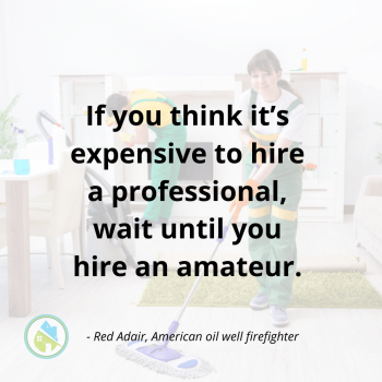 Expensive to Hire a Professional Savvy Cleaner Inspiration