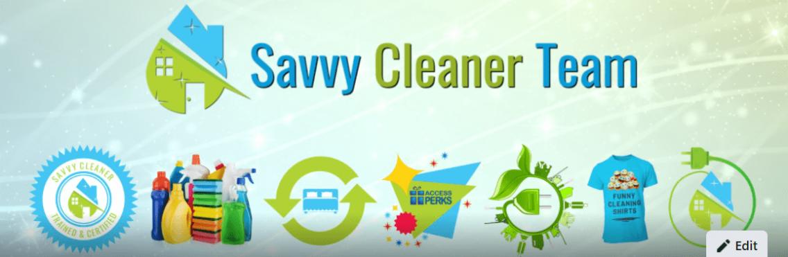 FB Savvy Cleaner Team