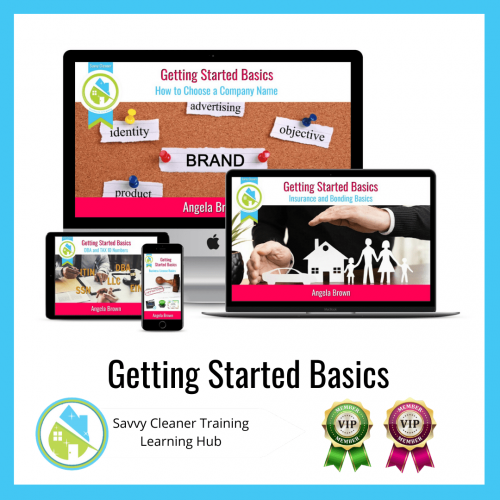 Getting Started Basics, Savvy Cleaner Training Course, Network, Business