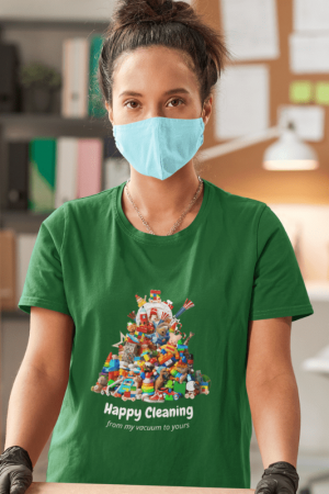 Happy Cleaning Savvy Cleaner Funny Cleaning Shirts Women's Classic T-Shirt